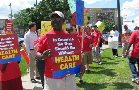 Health care reform supporters in Minnesota - Photo: AFL-CIO/Flickr