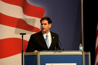 U.S. Senate candidate Marco Rubio from Florida speaks at CPAC - Photo: Gage Skidmore/Flickr