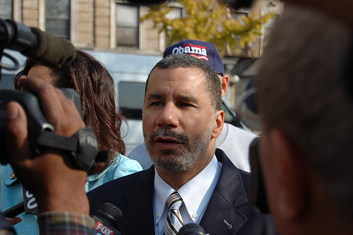 Governor Paterson in Harlem