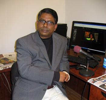 Sunil Adam, Editor of News India Times