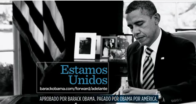 Obama Spanish Language ad