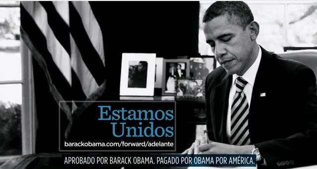 Obama Spanish Language ad