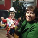 Blanca Morales, organizer of this year's 'Alasitas' festival in Corona, Queens. (Photo: Miranda Shafer)