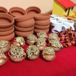 Miniature jars of gold for the 'Alasitas' festival. (Photo: Miranda Shafer)
