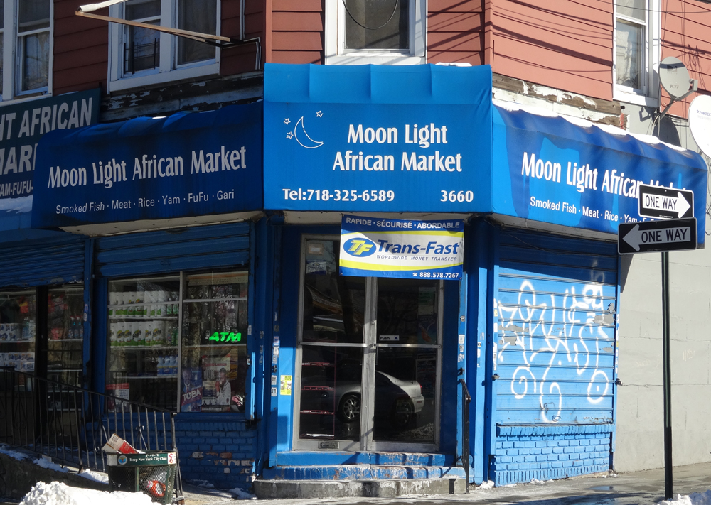 African corner store in the Bronx. (Photo: Kimberly Bonds)