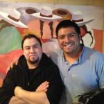 Kel Navarette and Raul Rivera, participants in this year's 'Alasitas' festival. (Photo: Miranda Shafer)