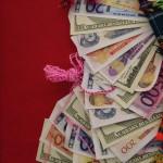 Miniature money for this year's 'Alasitas' festival. (Photo: Miranda Shafer)