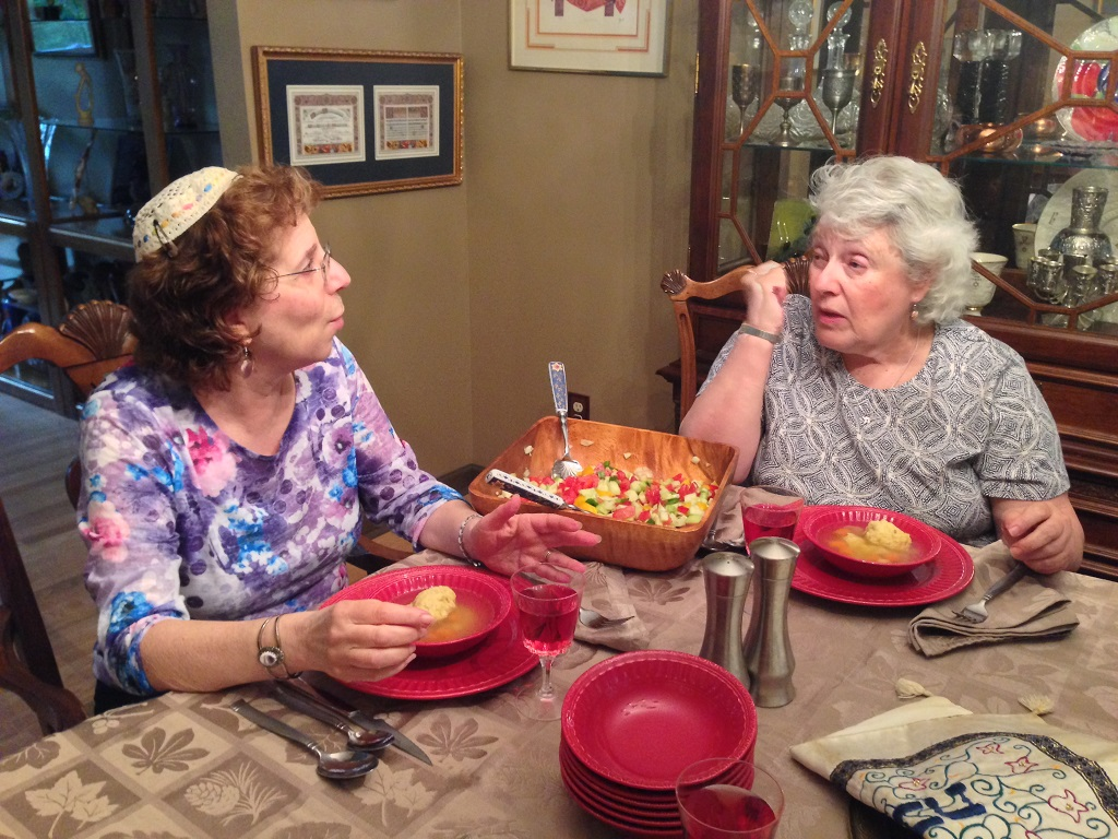 Rabbi Debra Smith and Barbara Meltz - Photo by Ramaa Raghavan