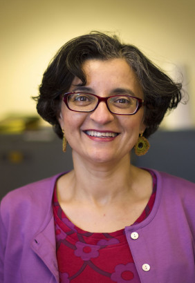 Sahar Amer, author of What Is Veiling?. Photo by Elisha Walker