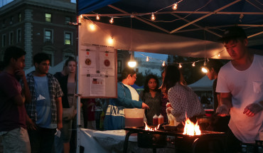 Scenes from the Queens International Night Market